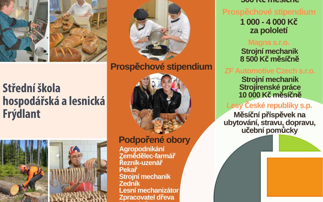 Stipendijní program pro žáky školy