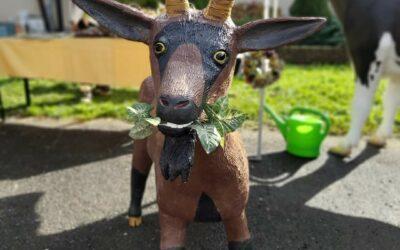 Svatováclavská výstava koz a ovcí a nákupní trh beranů